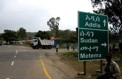 A road leading to Ethiopia-Sudan border (Photo Jamminglobal.com)