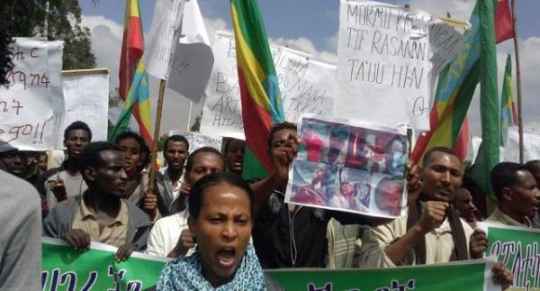 Ethiopia Protest 2014  Source : Freedom House/gadaa.com