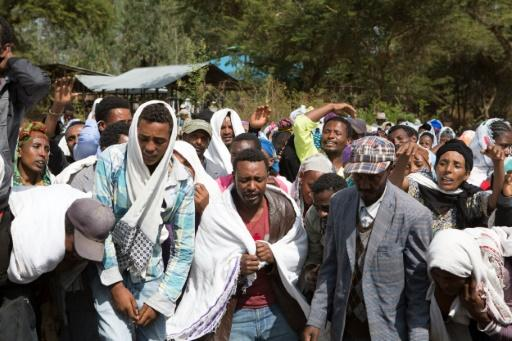 Dozens arrested in Ethiopia anti-government protest  /AFP via Yahoo News