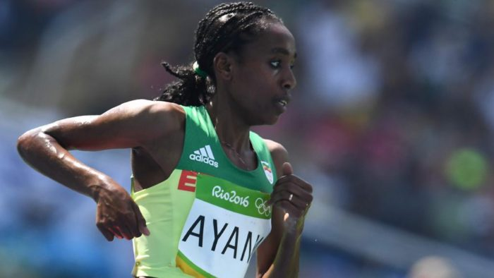 Almaz Ayana  Source ; Herald Sun