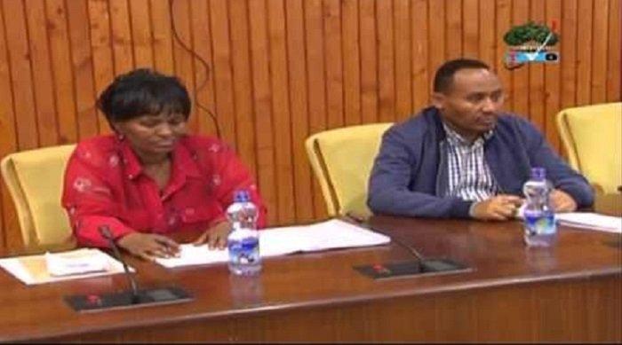 Aster Mamo and Muktar Kedir  Source : aster-mamo-and-mukrat-kedir-oromia-parliamentarians