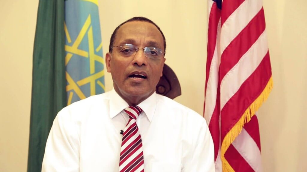 "Girma Birru - ""Ethiopia's"" Ambassador to the United States Source : The Habesga"