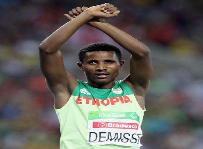 Tamiru Demissie Paralympics silver medalist Source :  social media