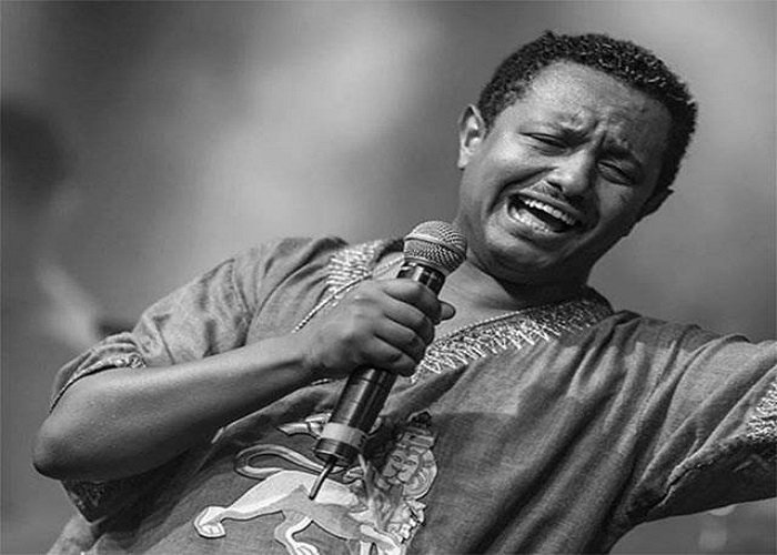 Teddy Afro Source :Facebook page of Dereje Habtewold