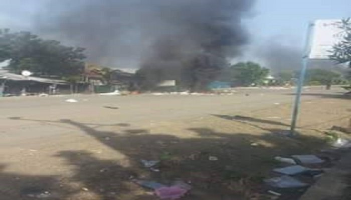 Town of Metema after attack by TPLF forces