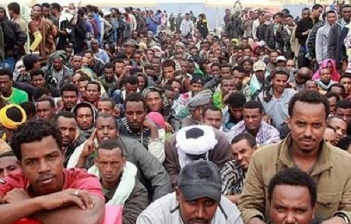 Ethiopian Migrants in Yemen  Source : Mereja.com