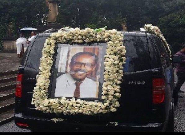 Hailu Shawu funeral ceremony