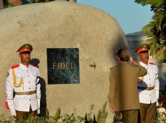 Ashes of Fidel Castro laid to rest Santiago de Cuba