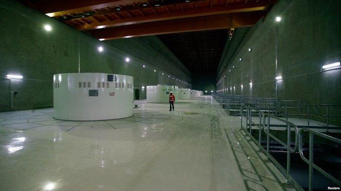 Completed Gibe III Dam  Source : VOA Amharic