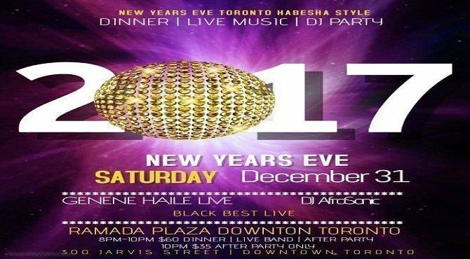 Toronto New Year Eve - Habesha Style