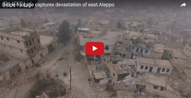 Shocking Video of Aleppo