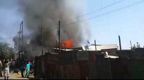 Fire - Addis Ababa - Bahir Dar