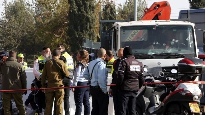 jerusalem attack, Photo AFP VIA BBC