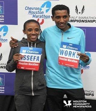 Meskerem Assefa and Feyisa Lilesa
