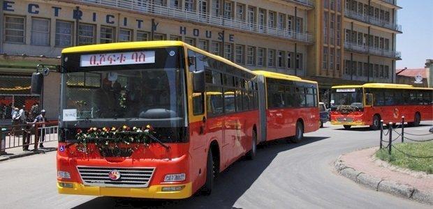 Anbessa bus - Addis Ababa - Ethiopia