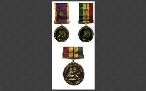 Menelik Medal - Crown Council Ethiopia