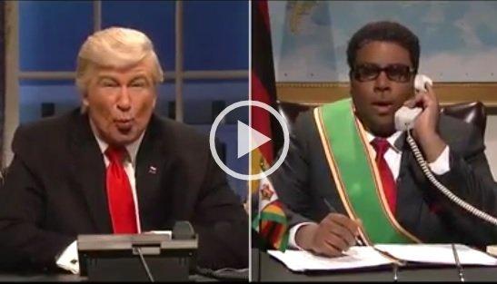 Trump and Mugabe comedy