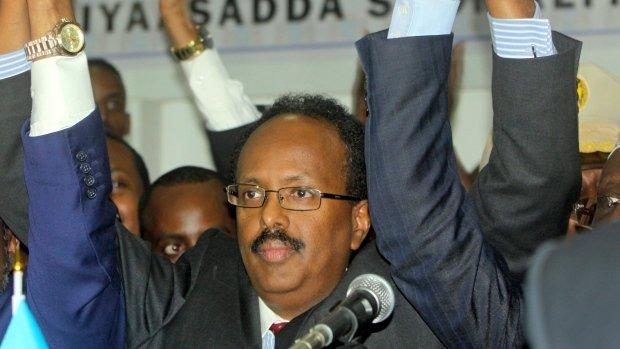 New Somalia president - Mohammed Abdullahi Farmajo