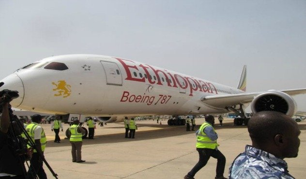 Ethiopian Airlines-Boeing 787 -Kaduna - Ethiopia - Nigeria