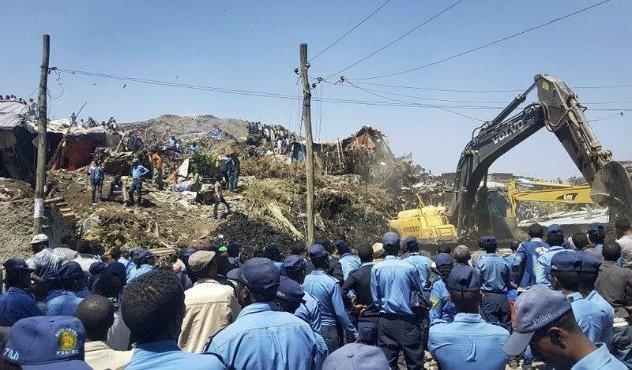 Garbage dump landslide - Addis Ababa - Ethiopia News