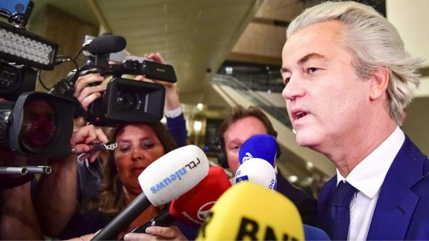 Dutch election: Wilders defeat celebrated by PM Rutte