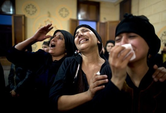 28 Coptic Christians killed by terrorits - source New York Times