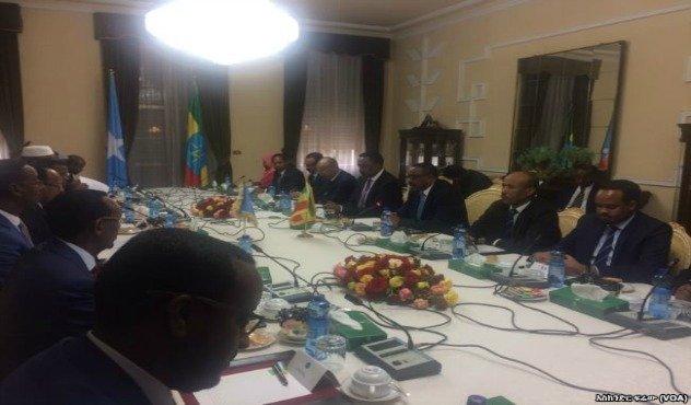 Abdullahi Farmajo in Addis Ababa