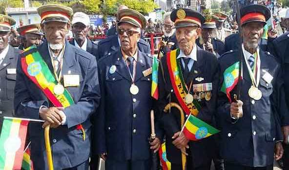 Patriots Day / Victory Day celebration in Addis Ababa