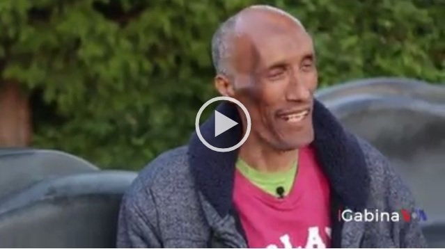 """""""Nothing is good like loving one another…"""" says Ethiopia's tallest man in Seattle"""