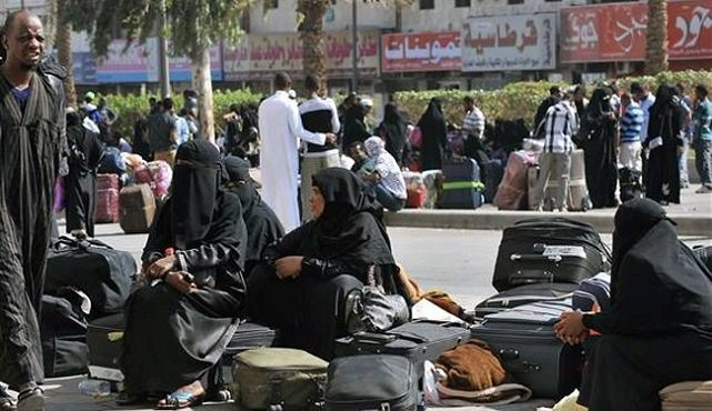Saudi-Arabia- Ethiopian Migrants