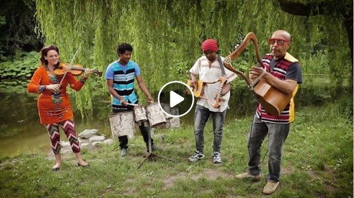 Beautiful instrumental Ethiopian Music from Qwanqwa