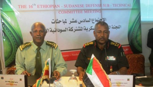 military cooperation - sudan - Ethiopia