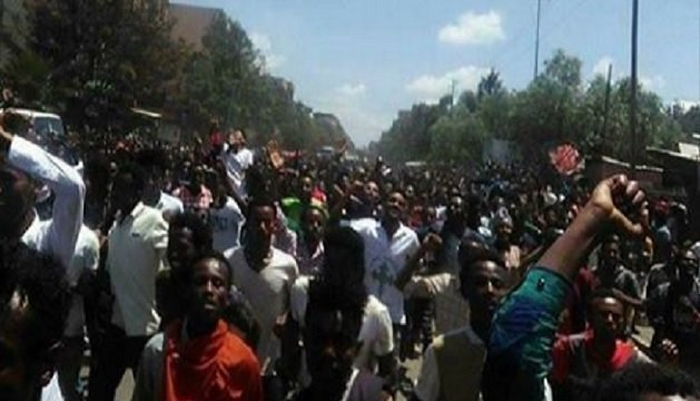 Shashemane - Protest in Oromia region - Ethiopia