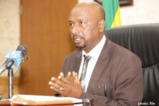 Ethiopia - Irrigation Minister Dr. Sileshi Bekele