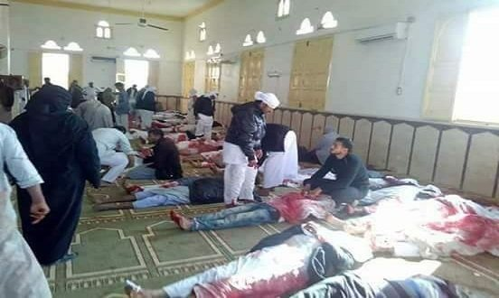 Egypt declare three days of national mourning after 235 killed in Mosque attack