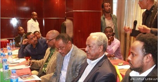Eritrean - Ethiopian Intellectuals  meeting in Addis Ababa