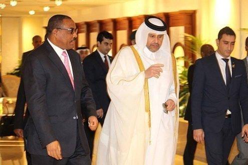 Ethiopian Prime minister Hailemariam - Qatar -Ethiopia