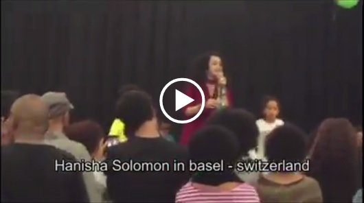 Hanisha Solomon performance in Basel, Switzerland