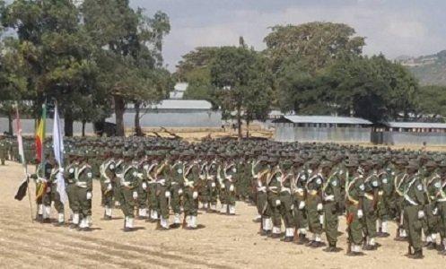 Oromo militia - Ethiopia
