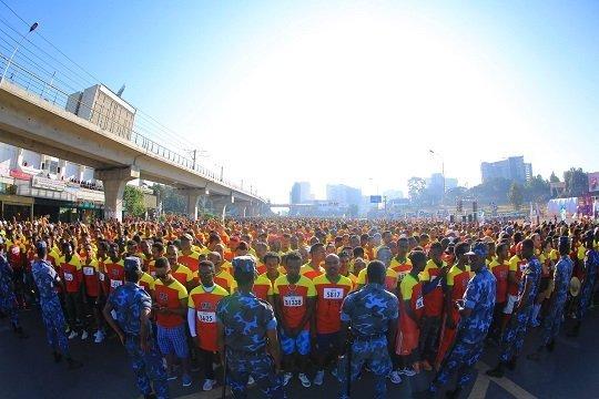 The Great Ethiopian Run 2017 - Addis Ababa