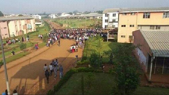 University Students abandoning campuses
