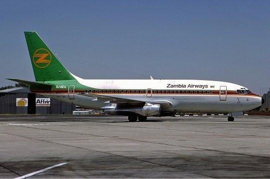 Ethiopian Airlines - Zambia Airways