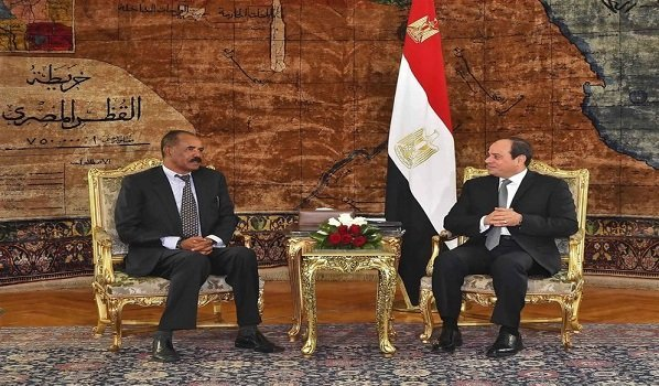 Egypt, Eritrea leaders meet as Nile tensions rise : AP