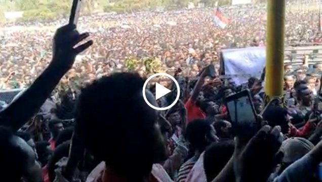 Merera Gudina emotionally moved with the reception in Ambo