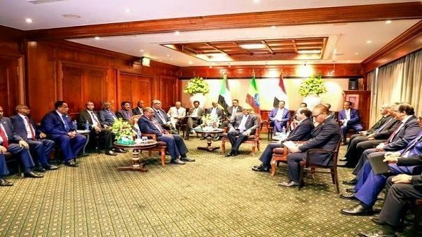 Tripartite  agreement between Ethiopia,Egypt and Sudan - Addis Ababa