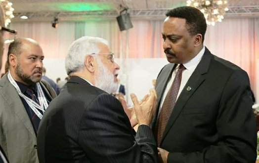 Ethiopian minister of Foreign Affairs  -Workeneh Gebeyehu