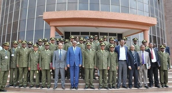 Ethiopia Military Officers and prime minister