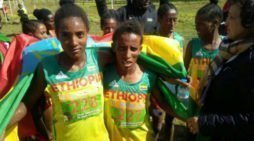 Ethiopia brought home five medals from the African cross country championship in Algeria