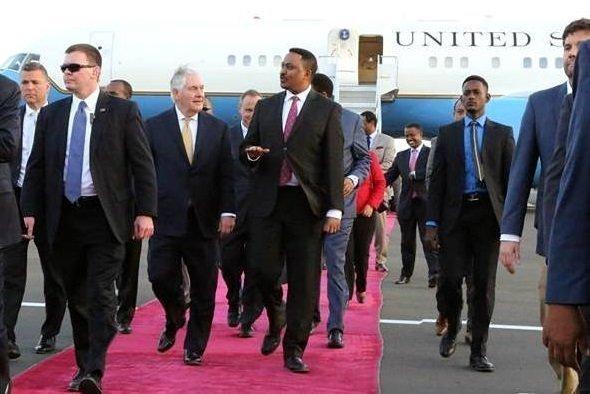 Tillerson _ Ethiopia