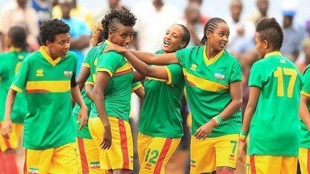 Ethiopia women soccer team